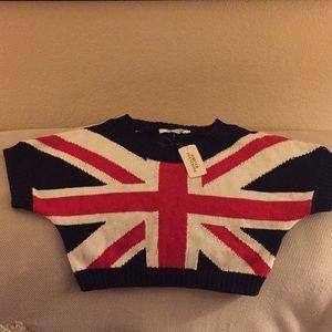 British flag 🇬🇧 crop top.